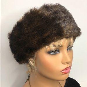 Faux Fur Headband Ear Warmer Winter Head Wrap